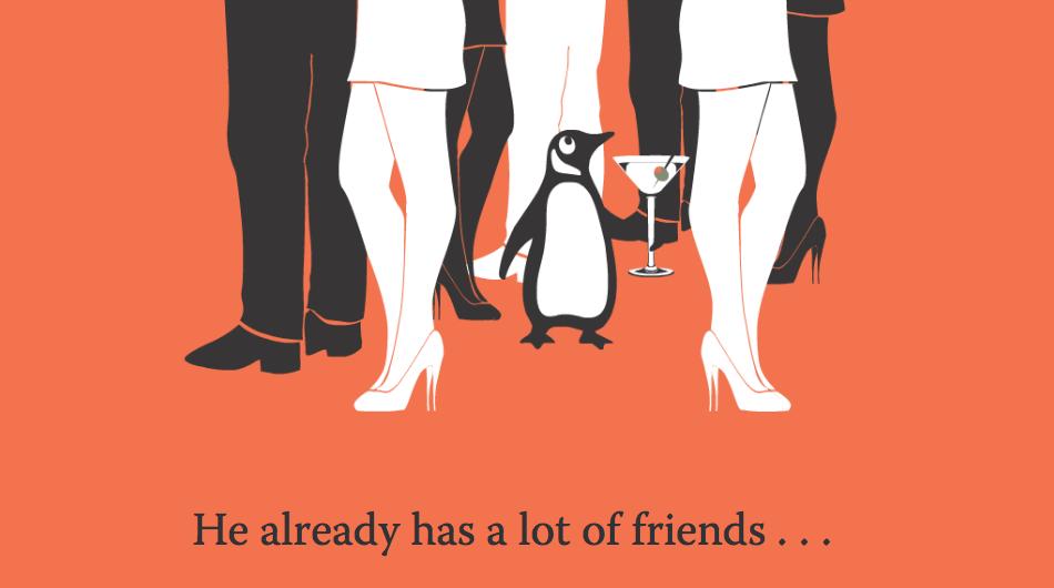 Screen shot of one portion of Penguin Books' brilliant job posting